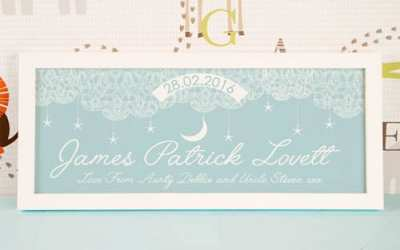 5 Personalised Keepsakes to Welcome Baby to the World
