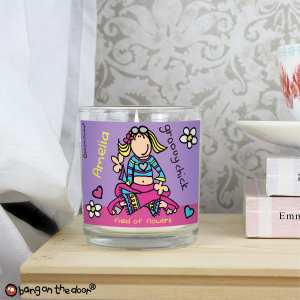 Groovy Chick Scented Jar Candle