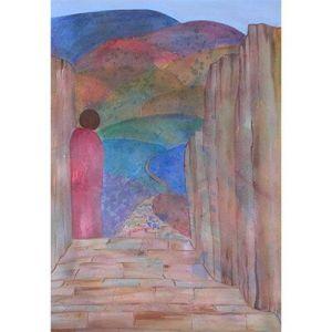 landscape paintings, figurative art, figure, mixed media art, fine art prints, peaceful images, redemptive, religious paintings, visual arts, mixed media creative art