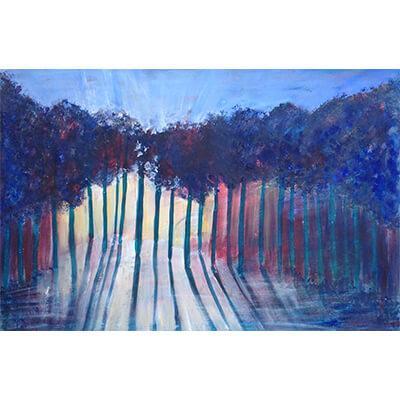 sun through the trees alice arlene