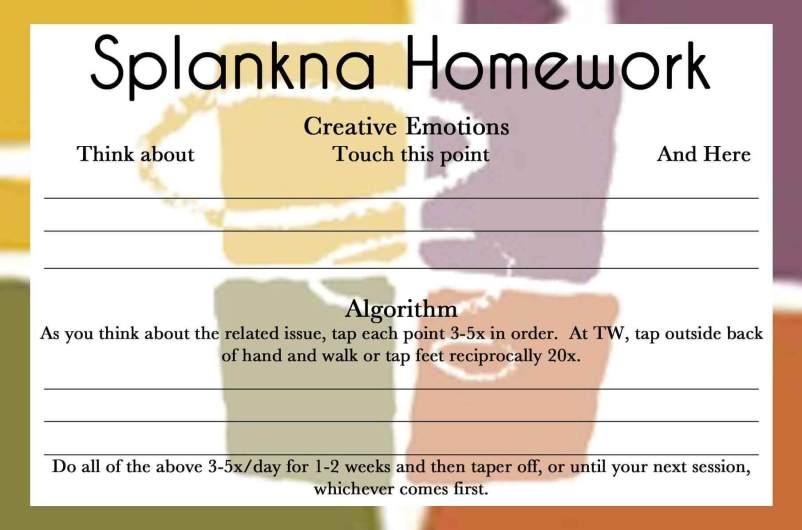 Splankna Homework Card