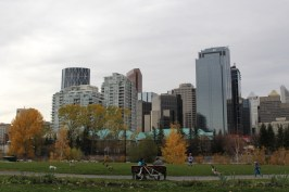 Calgary from Eau Claire
