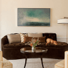 Living space by Greenwich Interior Designer Alice Black