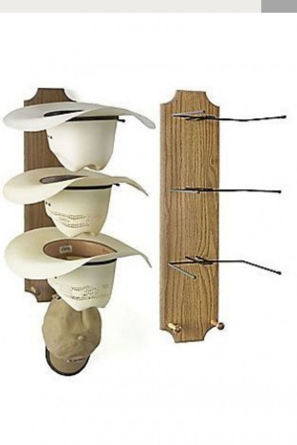 hat rack for wall