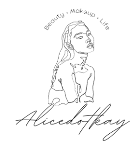 alicedotkay makeup beauty content logo