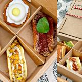 【台南美食】每日限量20盒!「半月燒寶盒」六種口味一次滿足《kokoni cafe》|禮盒推薦| |台南甜點| |台南外帶|