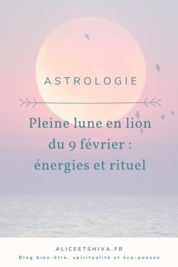 alica et shiva pleine lune en lion 9 fevrier 2020 astrologie transit energies rituels pierres cristaux