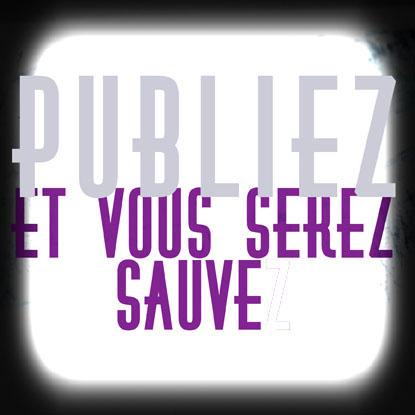 Publier pour être sauvé