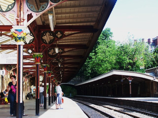 Great Malvern Station, Midlands, England: f/3.2; Exposure 1/ 180sec