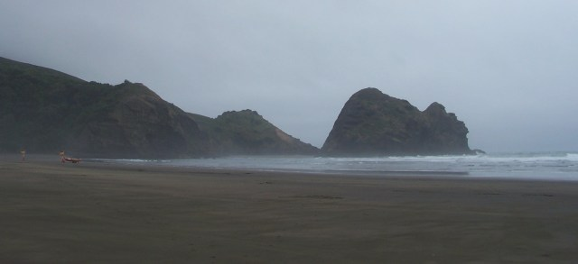 Lion Rock of Piha, North Island, NZ: f/3.6; 1/350sec