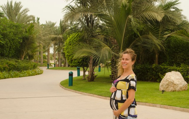 Exploring Atlantis, The Palm Dubai @ 23 weeks pregnant