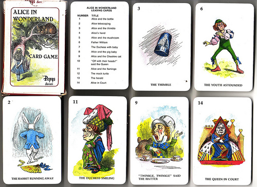 Alice in Wonderland Card Game