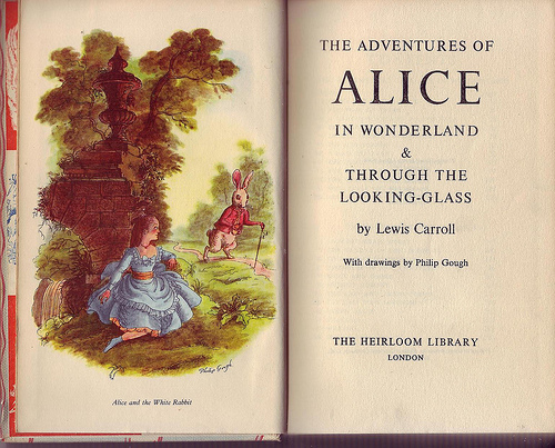 Alice illustrated by Philip Gough