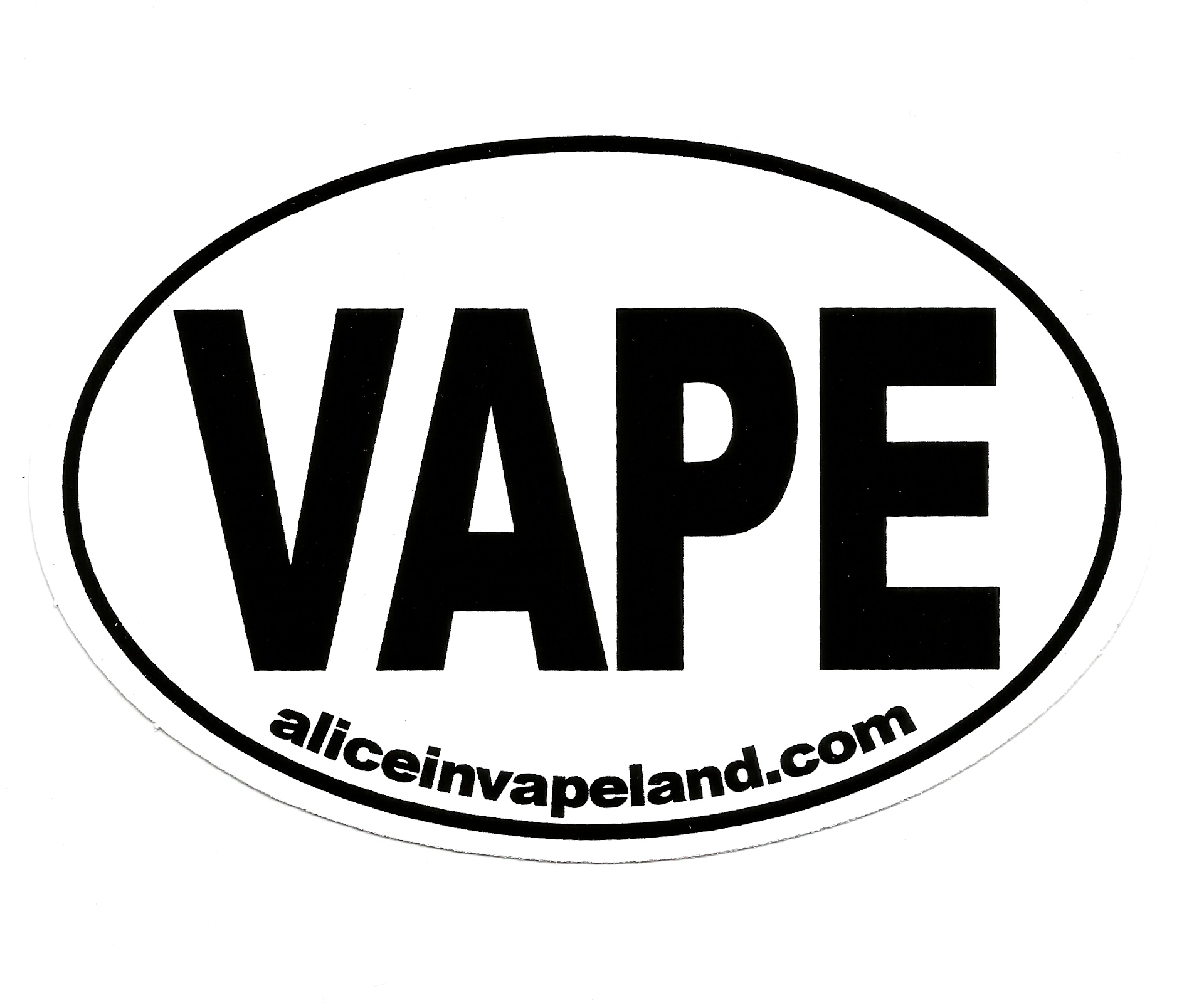 Vape Bumper Sticker