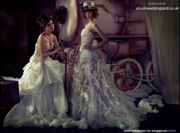 A Steampunk Wedding Photo Shoot: The Best I've Ever Seen