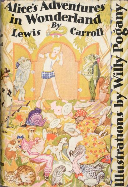 Flapper Alice in Wonderland from 1929