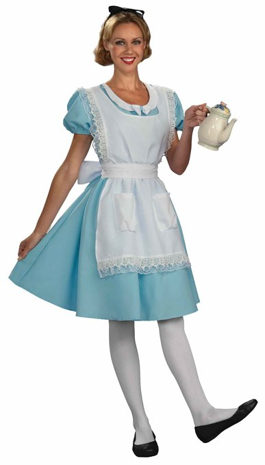 Unsexy Alice in Wonderland Costumes