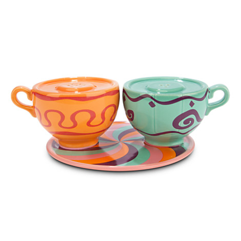 teacup salt and pepper shakers