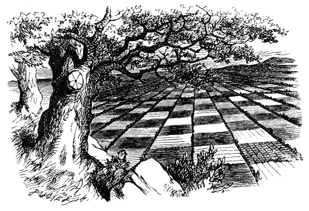 John Tenniel Looking Glass land illustration