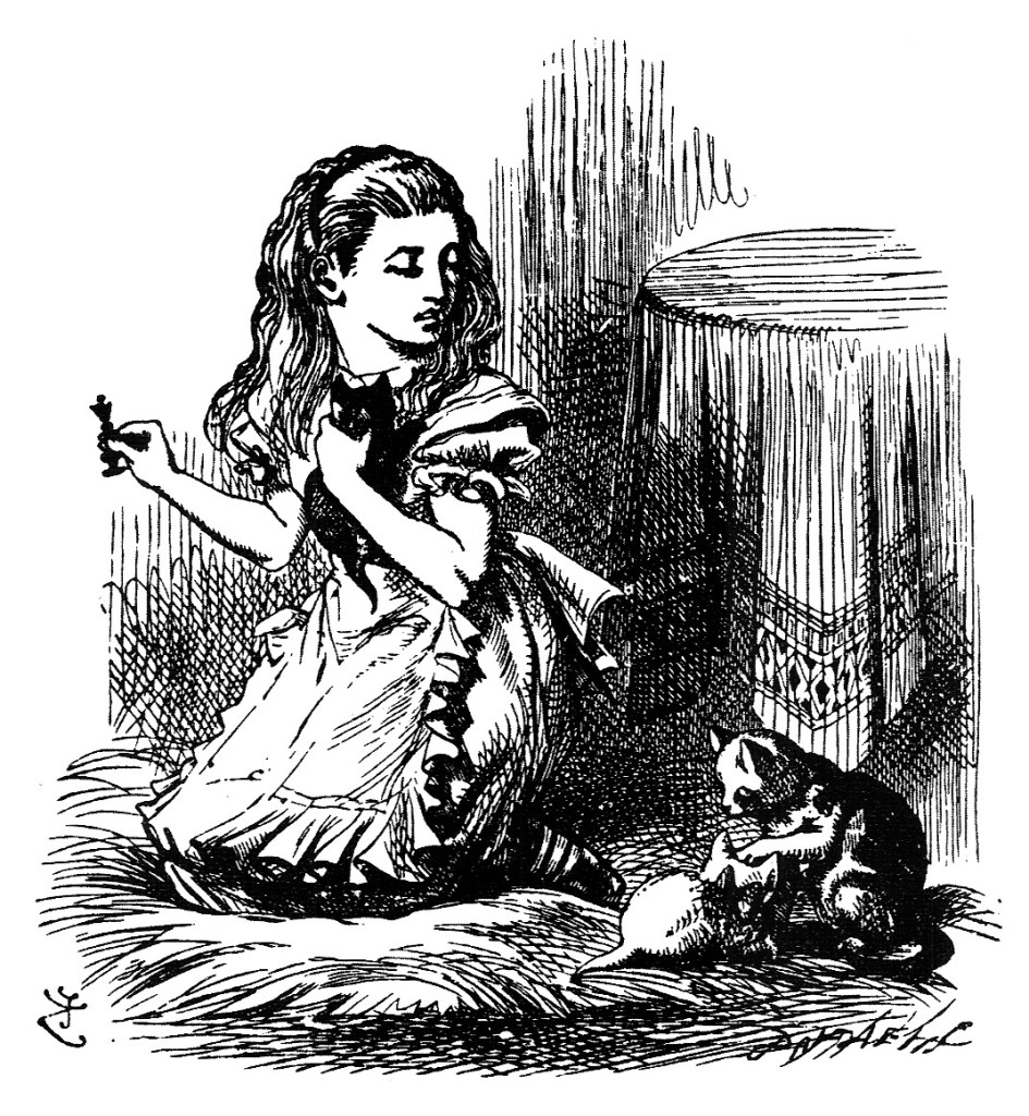 John Tenniel illustration from Which Dreamed It Chapter 12