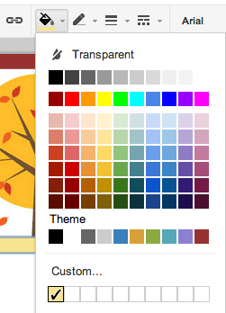 color picker in google presentation teacher tech