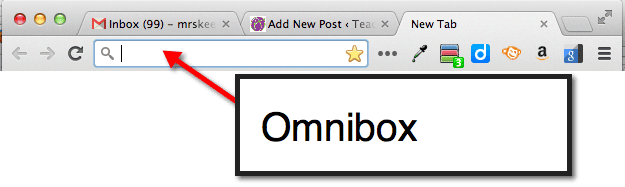 Tips and Tricks: Search, Address Bar and the Ominibox - Teacher Tech