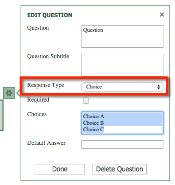 O365 choice option