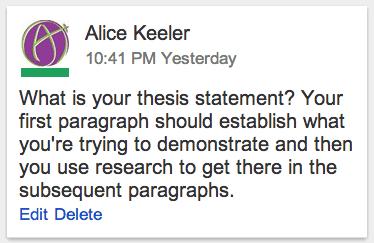 Google Docs Link To A Comment Teacher Tech