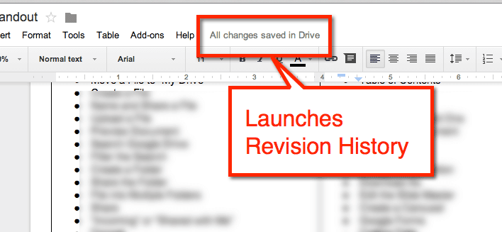launches Revision History
