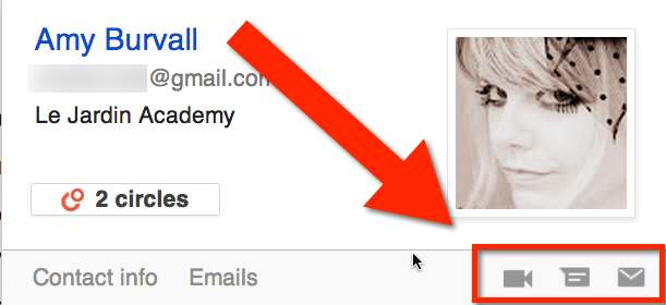 chat or video in gmail