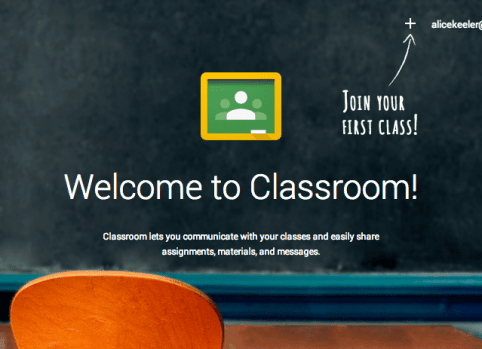 Welcome to Google Classroom