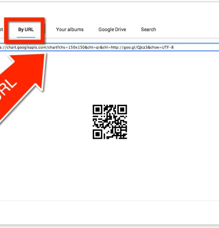 Insert image by URL Google Slides