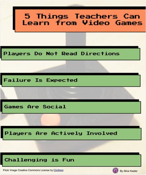 5 Things Teachers Can Learn From Video Games - Teacher Tech