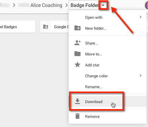 how to download whole google drive folder
