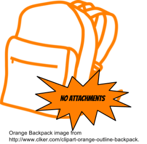 No Attachments Digital Haversack
