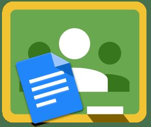 google classroom google text document