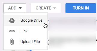 Add Google Docs to Google Classroom