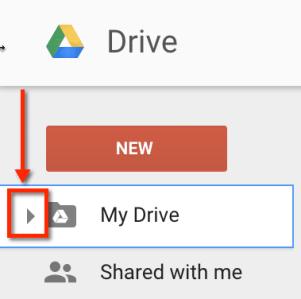 Google Drive My Drive