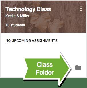 View Class Folder