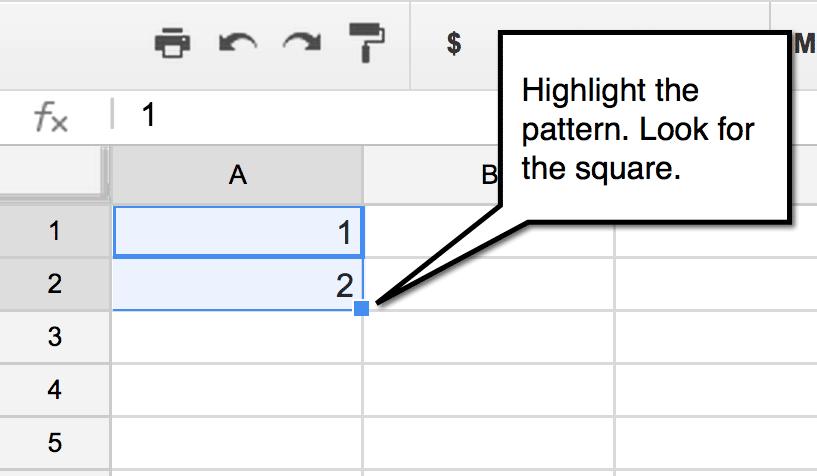 Google Sheets: Fill Down - Teacher Tech
