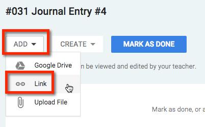 Add hyperlink