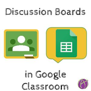 Google Classroom: Creating a Discussion Board - Teacher Tech