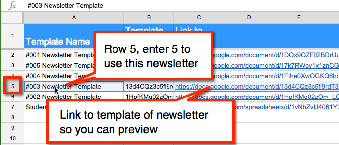 Create Personalized Teacher Newsletters For Each Student