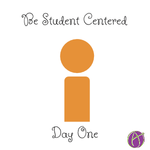 Be Student Centered Day One - Teacher Tech