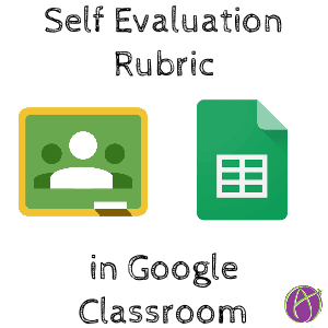 self evaluation rubric