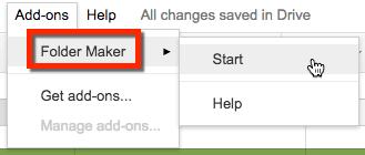 Make folders
