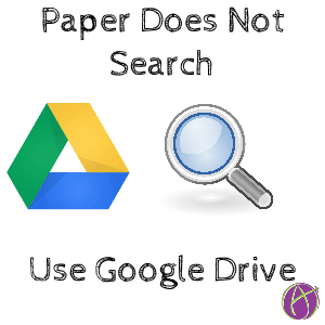 Paper does not search