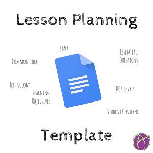 My Lesson Plan Template Teacher Tech