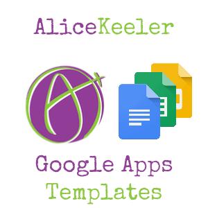 Templates Teacher Tech - Google apps templates