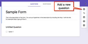 Floating toolbar Google Forms